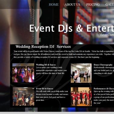 Event DJs & Entertainers | Victor Chavez&Julia Krasnov  wedding vendor preview
