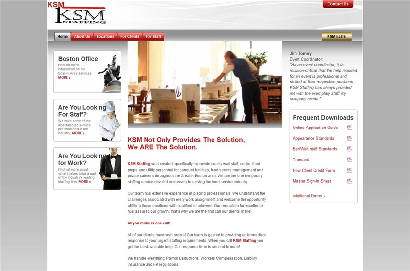 KSM Staffing wedding vendor photo