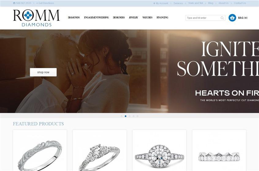 Romm Diamonds wedding vendor photo