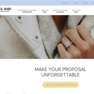 E.B. Horn Company wedding vendor preview