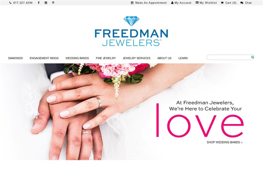 Freedman Jewelers wedding vendor photo