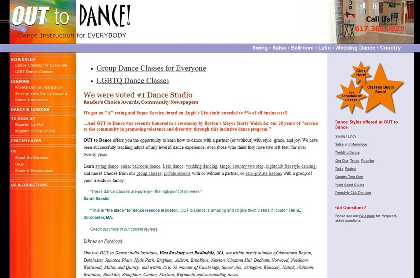 OUT to Dance wedding vendor photo