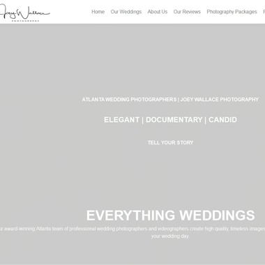 Joey Wallace Photography wedding vendor preview