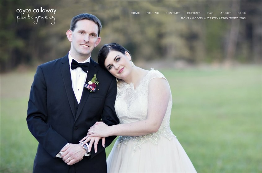Cayce Callaway Photography wedding vendor photo