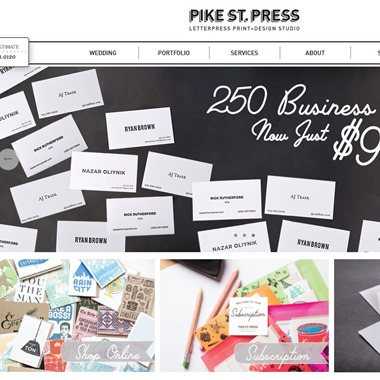 Pike Street Press wedding vendor preview