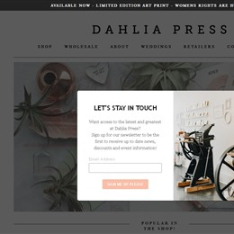 Dahlia Press photo