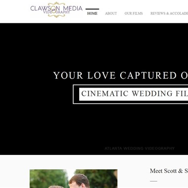 Clawson Media Videography wedding vendor preview