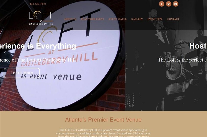 Loft At Castleberry Hill Atlanta Wedding Venue