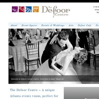 The Defoor Centre wedding vendor preview