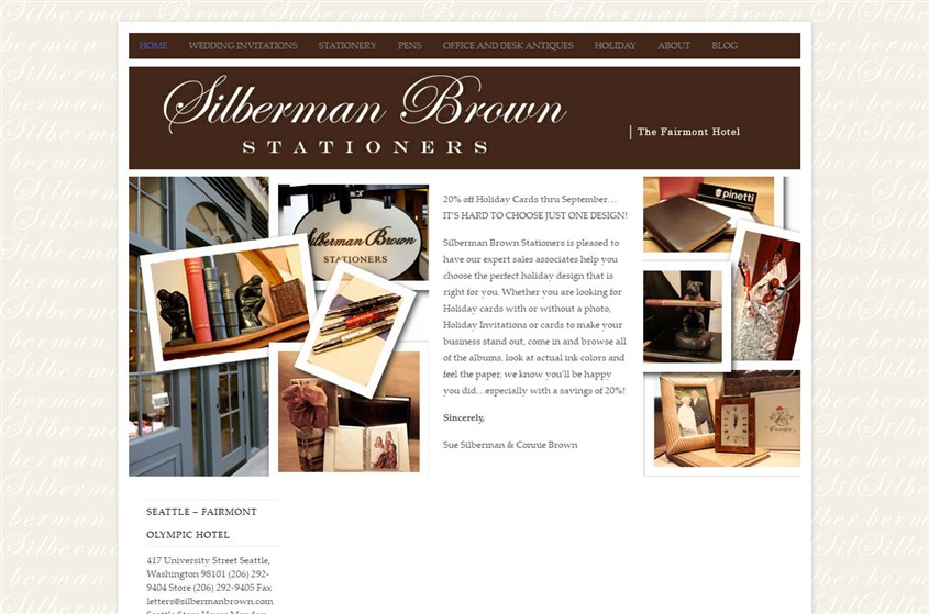 Silberman Brown Stationers wedding vendor photo