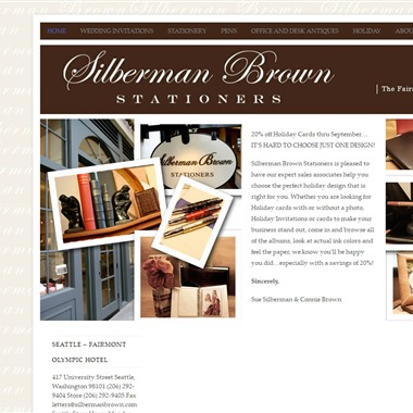 Silberman Brown Stationers wedding vendor preview