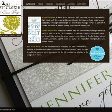 Paper Moxie wedding vendor preview