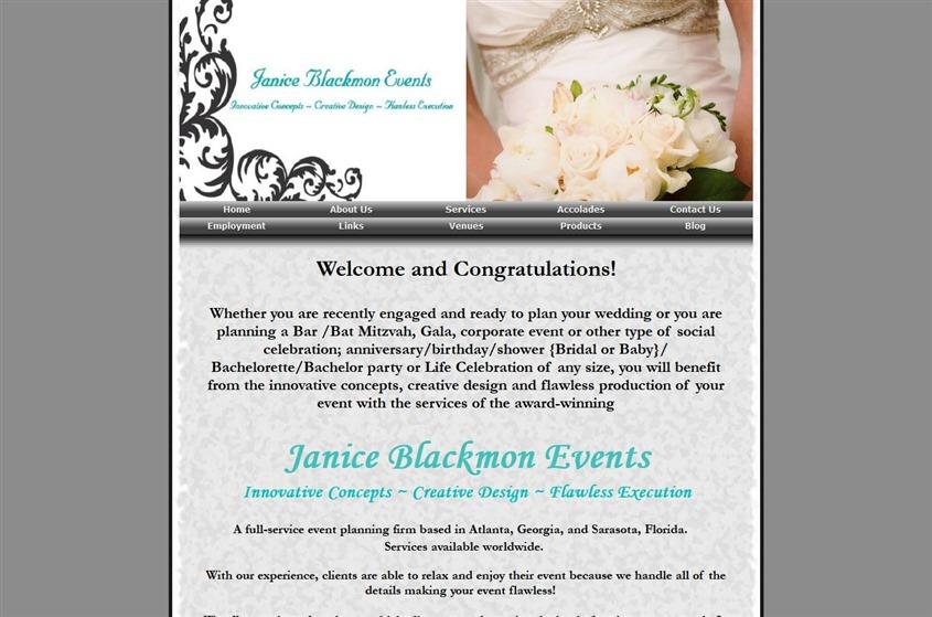 Janice Blackmon Events wedding vendor photo