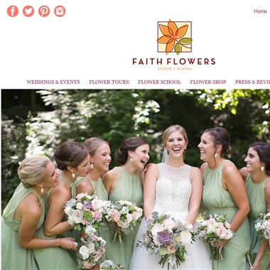 Faith Flowers wedding vendor preview