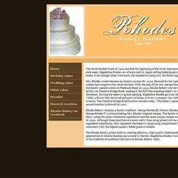 Photo of Rhodes Bakery, a wedding cake bakery in Atlanta