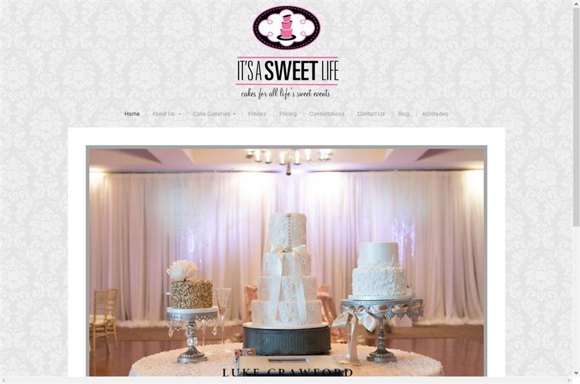 It's a Sweet Life Bakery wedding vendor photo