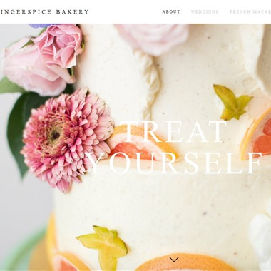 Gingerspice Bakery wedding vendor preview