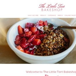 Photo of The Little Tart Bakeshop, a wedding cake bakery in Atlanta