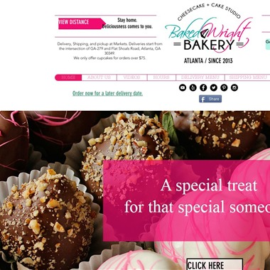 Baked Wright Bakery wedding vendor preview