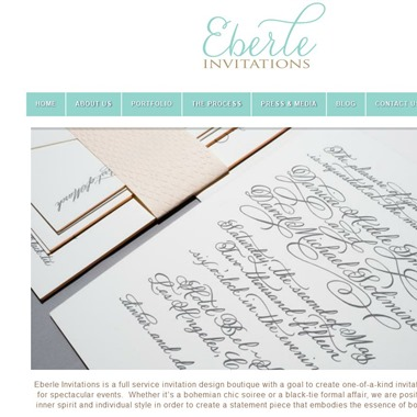 Eberle Invitations wedding vendor preview