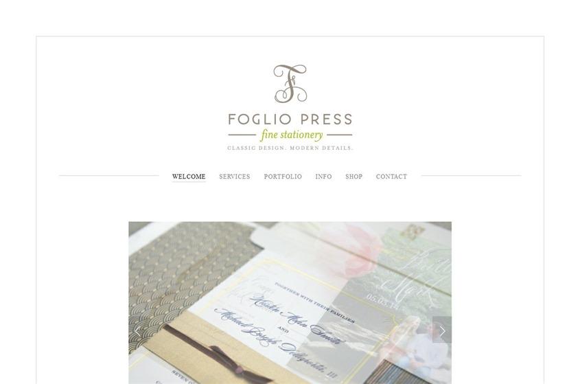 Foglio Press wedding vendor photo