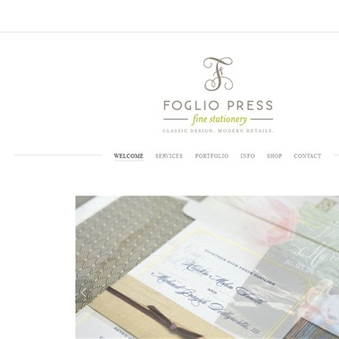 Foglio Press wedding vendor preview