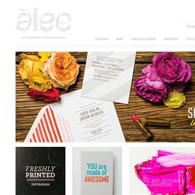 Alee & Press wedding vendor preview