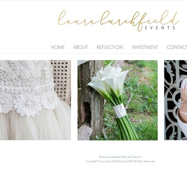 Laura Burchfield Events wedding vendor preview