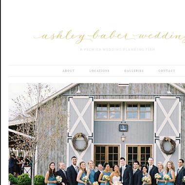 Ashley Baber Weddings wedding vendor preview