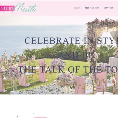 Events by Mesita wedding vendor preview