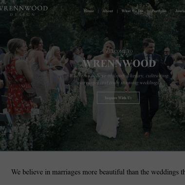 Wrennwood Design wedding vendor preview