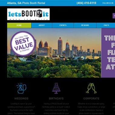 Lets Booth It Atlanta wedding vendor preview