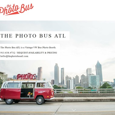 The Photo Bus ATL wedding vendor preview