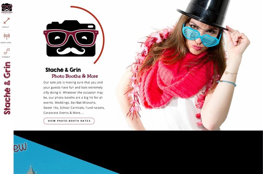Stache & Grin Photo Booths wedding vendor photo
