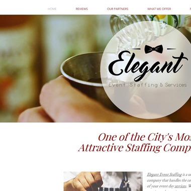 Elegant Event Staffing wedding vendor preview