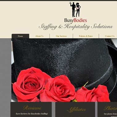 Busy Bodies Staffing wedding vendor preview