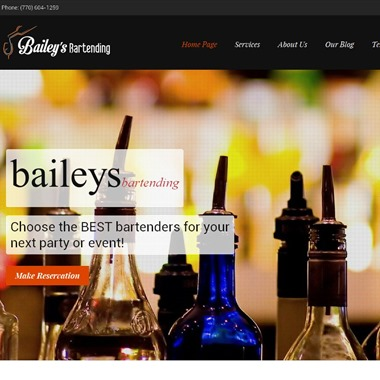 Baileys Bartending wedding vendor preview