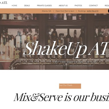 ShakeUp Atl wedding vendor preview