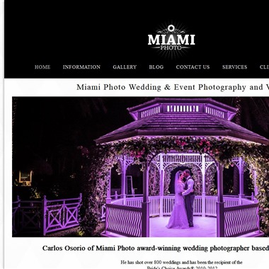 Miami Photo wedding vendor preview