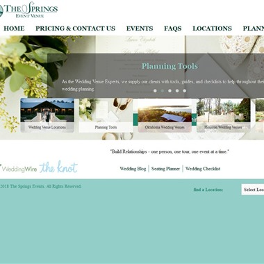 The Springs wedding vendor preview