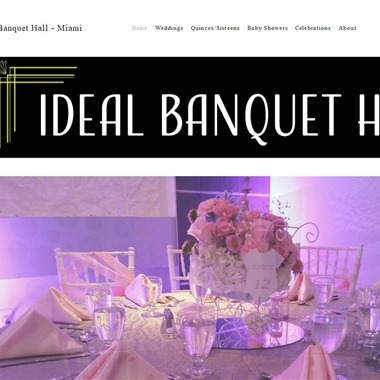Ideal Banquet Hall wedding vendor preview
