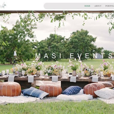 Masi Events wedding vendor preview