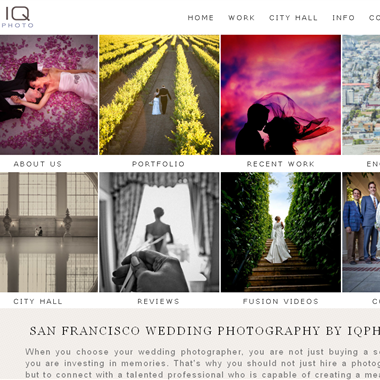IQphoto Studio wedding vendor preview
