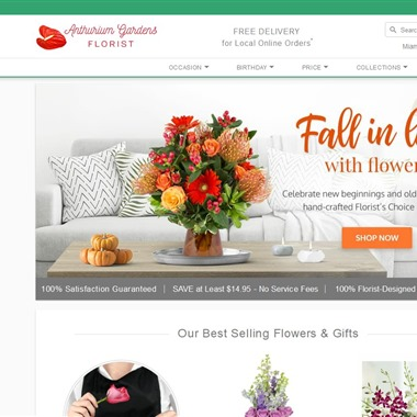 Anthurium Gardens Florist wedding vendor preview