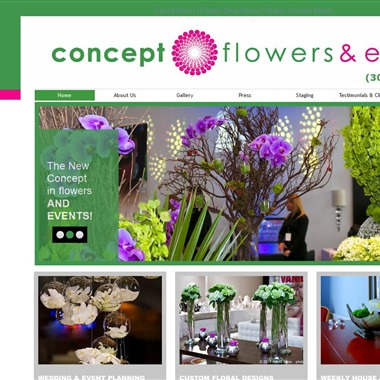 Concept Flowers wedding vendor preview