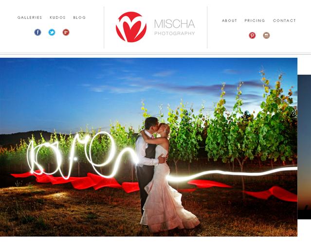 Mischa Photography wedding vendor photo
