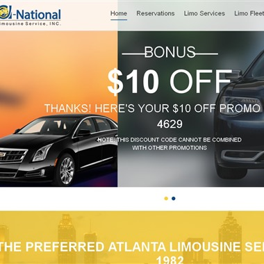 A-National Limousine Service wedding vendor preview