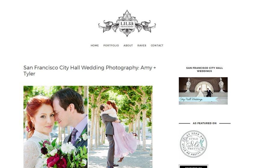 Lilia Photography wedding vendor photo