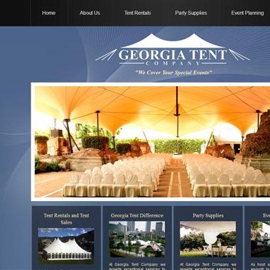 Georgia Tent Company wedding vendor preview