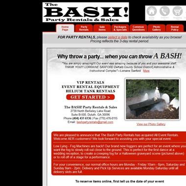 The Bash Party Rentals wedding vendor preview